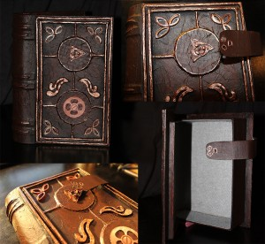 Secret Compartment, Hollowed, Book Safe with Grey Felt Lining