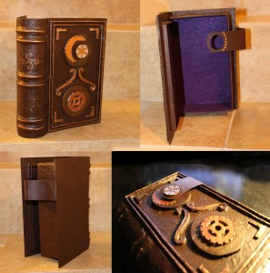 Secret Compartment, Hollowed, Book Safe with Purple Felt Lining